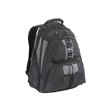 Targus® TSB212 Sport Standard Backpack For 15.4in. Notebook, Platinum/Black