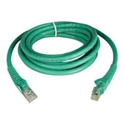 Tripp Lite 7' Cat6 RJ45/RJ45 Snagless Molded Patch Cable, Green