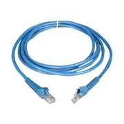 Tripp Lite® 14' Cat6 RJ-45 Male/Male Gigabit Snagless Molded Patch Cable, Blue