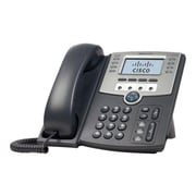 Cisco SPA509G 12-Line Corded VOIP Telephone, Black/Gray