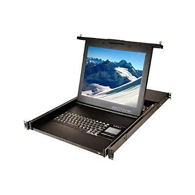 Avocent ECS17KMM8-001 Rack-Mountable LCD Console Tray With Integrated KVM Appliance