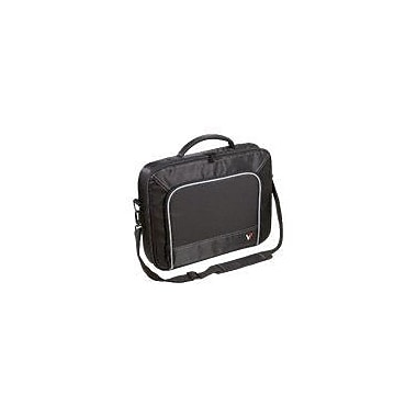 V7® CCP4-9N 13in. Professional Laptop Case, Black/Grey