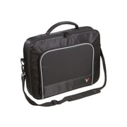 V7® CCP2-9N 17 Professional Laptop Case, Black/Grey