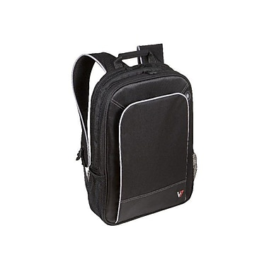 V7® CBP1-9N Professional Backpack For 16in. Notebooks, Black/Gray