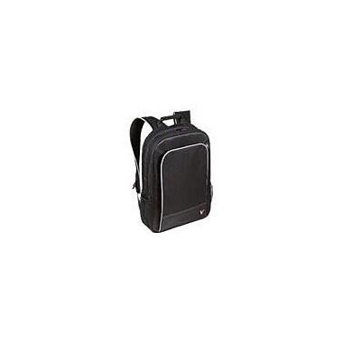 V7® CBP2-9N Professional Backpack For 17in. Notebooks, Black/Gray