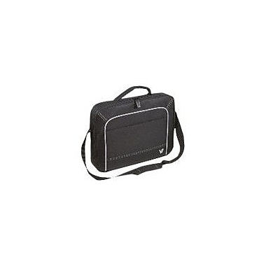 V7® CCV1-9N 16in. Vantage Laptop Case, Black/Grey
