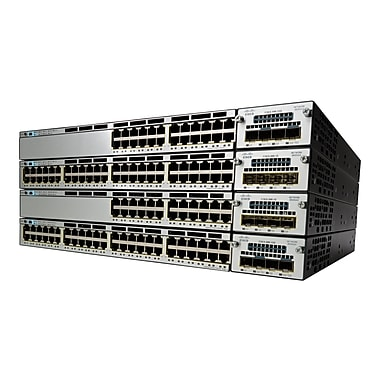 Cisco® 3750X-24T-S Catalyst Layer 3 Switch, 24 Ports