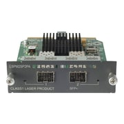 HP® SFP+ Expansion Module, 2-Ports (JD368B)