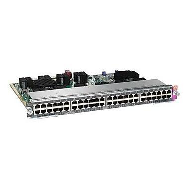 Cisco™ WS-X4748-RJ45V+E= 48 Port PoE 802.3AT-10/100/1000 RJ45 Line Card PoE