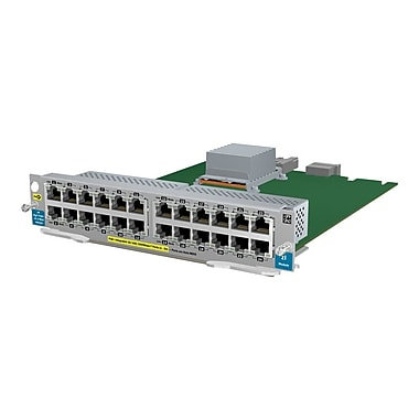 HP® J9534A 24 Port GIG-T PoE+ V2 ZL Expansion Module For E5400zl Switches, E8200 Series zl Switches