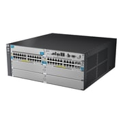 HP® E5400 zl E5406-44G-PoE+/4G-SFP Managed Gigabit Ethernet Switch Chassis, 44 Port (J9539A#ABA)
