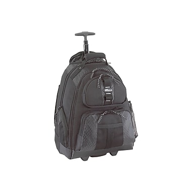 Targus® TSB700 Rolling Laptop Backpack For 15.4inch Notebook, Black