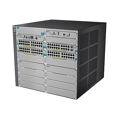 HP E8212-92G-PoE+/2XG-SFP+ v2 zl Switch Chassis, 92 Port