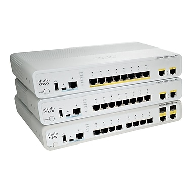 Cisco  WS-C2960CPD-8TT-L Ethernet Switch, 1 Port - 12 Ports Ports