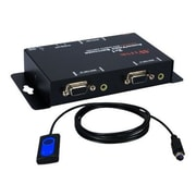 QVS® MSV21A 2Port VGA Video/Audio Share Switch With Remote Control Cable