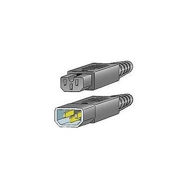 Cisco® Cabinet Jumper Power Cord, 250 VAC 16A, C14-C15 Connectors