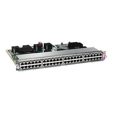 Cisco® WS-X4648-RJ45V+E Catalyst Line Card, 48 Ports