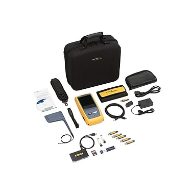 Fluke Networks® OneTouch™ 1T-3000 AT Network Assistant With Copper/Fiber Inline and Capture Option