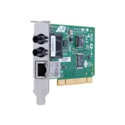 Allied Telesis™ PCI 32-BIT Fast Ethernet Dual Fiber and Copper Network Interface Card