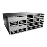 Cisco® Catalyst 3850 Managed Gigabit Ethernet Switch, 24-Ports (WS-C3850-24P-E)