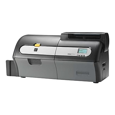Zebra® ZXP Series 7 Dye Sublimation/Thermal Transfer Card Printer, 300 dpi