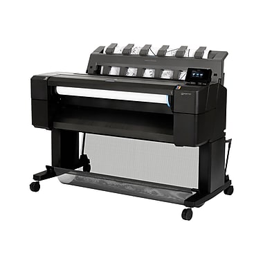 HP® Designjet T920 PostScript 36in. ePrinter Inkjet Large Format Printer, Cyan