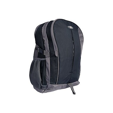 V7® 15.6in. Odyssey Laptop Backpack Carrying Case, Black/Gray