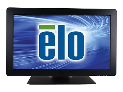 """""ELO 2401LM 24"""""""" LED-LCD Touchscreen Monitor, Black"""""" IM1TG5687"