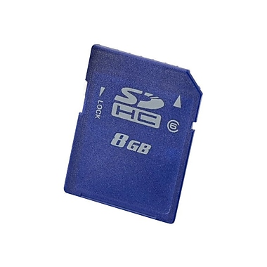 HP® 8GB SDHC (Secure Digital High Capacity) Class 10 Enterprise Mainstream Flash Media Kit