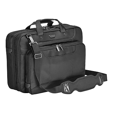 Targus® Checkpoint-Friendly CUCT02UA15S 16in. Corporate Traveler Laptop Case, Black