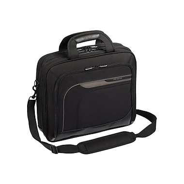 Targus® TBT045US Mobile Elite Laptop Case For 15.4in. Laptops, Black/gray