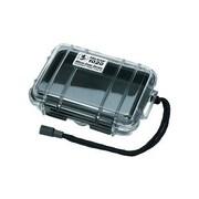 Pelican 1020-025-100 Micro Case for Small Accessories, Clear/Black