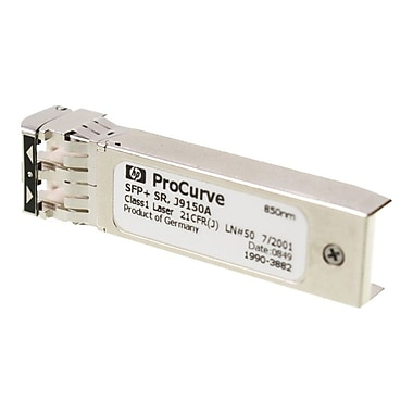 HP® J9150A Gigabit ethernet SFP+ Transceiver Module For HP 6600-24XG Switch, E6600-48G-4XG