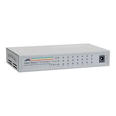 Allied Telesis™ FS708LE 8 Port Fast Ethernet Switch
