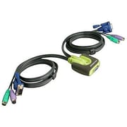logear GCS62 PS/2 KVM Switch, 2 Port
