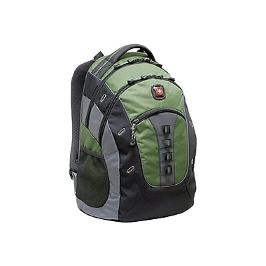 SwissGear® Granite Green/Black Backpack (GA-7335)