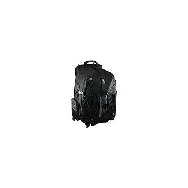 Ape Case® ACPRO4000 Digital SLR and Laptop Roller Backpack, Black