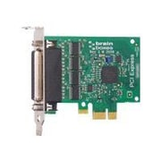 Brainboxes PX-260 4 Port RS-232 Low Profile Multiport Serial Adapter