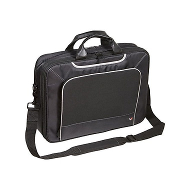 V7® CTE1-9N 16in. Elite Laptop Case, Black/Grey