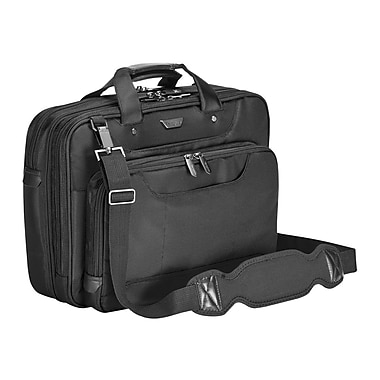 Targus® CUCT02UA14S Corporate Traveler Laptop Case For 14in. Laptops, Black