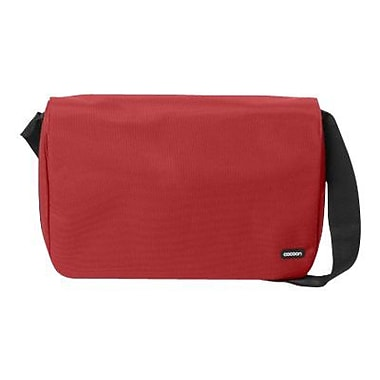Cocoon CMB401RD Soho Messenger Bag For 16in. Laptops, Racing Red