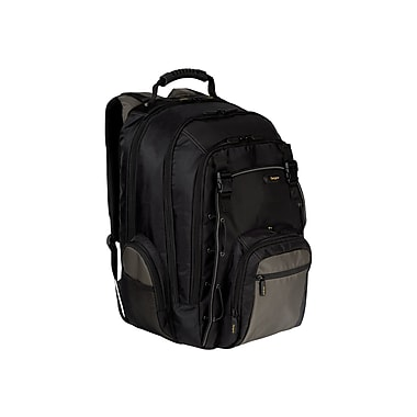 Targus® CityGear TCG650 16in. Backpack, Black/Gray/Yellow