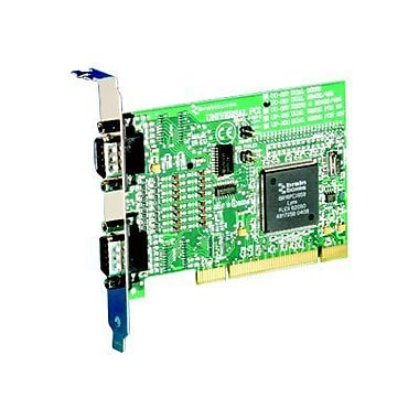 Brainboxes UC-313 2 Port Universal PCI Serial Adapter Card
