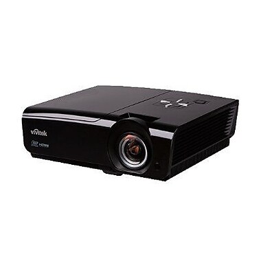Vivitek D950HD WUXGA Home Theater Projector, Black