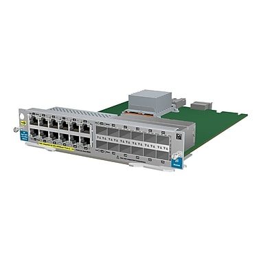 HP® J9637A 12 Port Gig-T PoE+ / 12-Port SFP v2 ZL Expansion Module For HP E5406-44G, E5406-48G zl