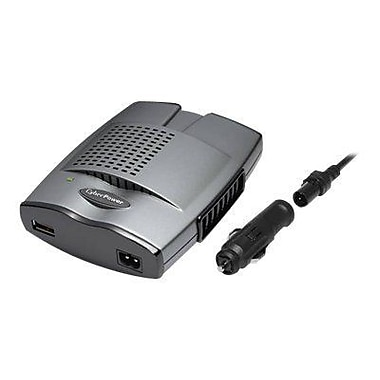 Cyberpower® 175 W Mobile Power Inverter, 12 VDC Input, 120 VAC Output, 2 Outlets