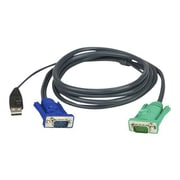 Aten 10' USB KVM Cable For Table, Black