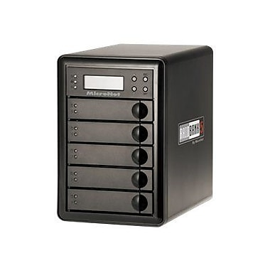 MicroNet® RAIDBank5 Quad Interface 5-bay Portable RAID DAS Array With USB Encryption (RB5-15000)