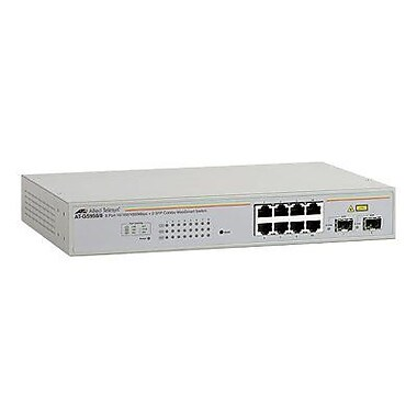 Allied Telesyn™ AT-GS950/8-10 Ethernet Switch, 8 Ports