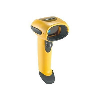 MOTOROLA LS3008-SR20005ZZR Twilight Black/Yellow Handheld Rugged Barcode Scanner